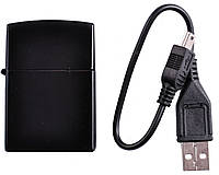 USB Зажигалка №4365 (Черная)