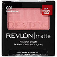 REVLON румяна Matte Powder Blush №001 Rose Rapture