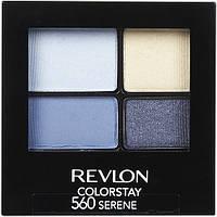 REVLON тени 4-е COLORSTAY стойкие 16 часов №560 serene