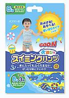 Трусики-подгузники для плавания Goo.N для мальчиков от 12 кг, ростом 80-100 см размер Big XL ,3 шт (753646)