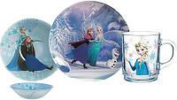 Детский набор Luminarc Disney Frozen 3 предмета: пиала, кружка, тарелка