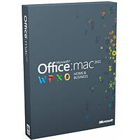 Microsoft Office Mac 2011 Для дома и бизнеса Русский 1 pack DVD Box (W6F-00211)