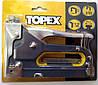 Степлер с регулировкой силы удара Topex 41E905