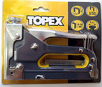 Степлер с регулировкой силы удара Topex 41E905, фото 1