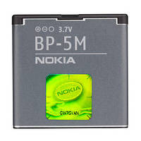 Аккумулятор АКБ Nokia BP-5M 7390 5610 5700 6110N 6220C 6500S 8600