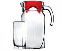 Набор для напитков Pasabahce Luna кувшин 1,7 л и 6 стаканов (97440)
