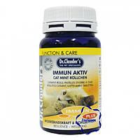 Вітаміни для імунітету DC Immun Aktiv Cat Mint Rollchen