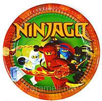 """Одноразовые тарелки """"Ниндзяго"""""""