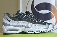 Весенние серебристые кроссовки Air Max 95