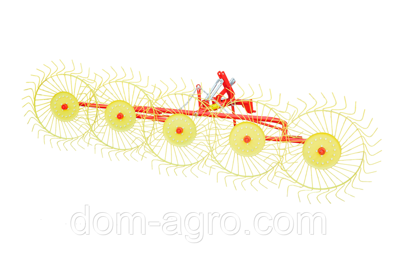 Грабли ворошилки Mokobody Z-510/1 (гребка 5 колес)