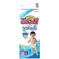 Подгузники GOO.N для детей 12-20 кг размер Big XL, на липучках, унисекс, 42 шт (753662)
