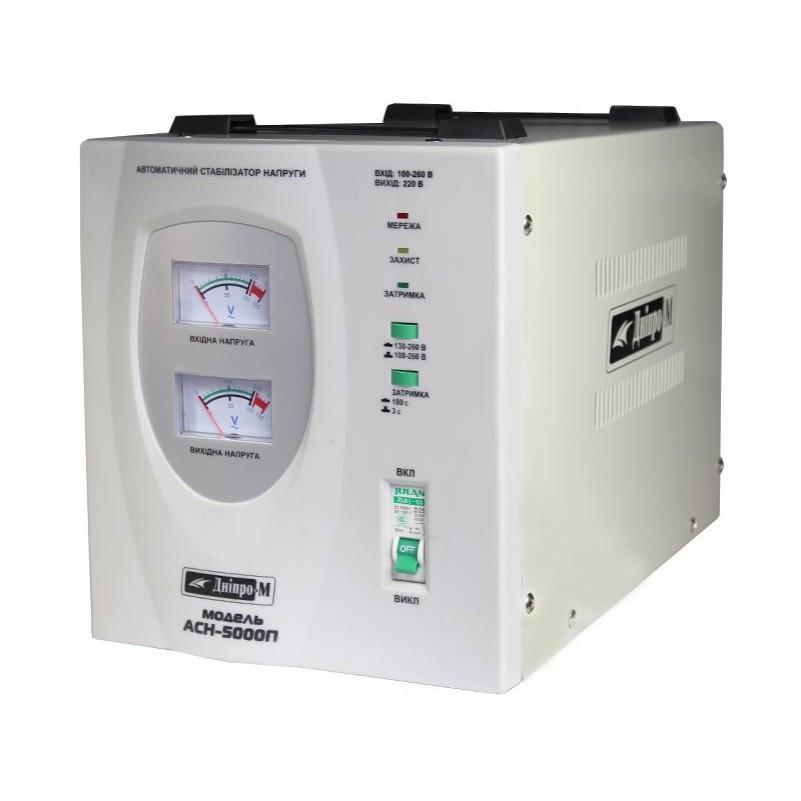 Автоматический стабилизатор напряжения Дніпро-М АСН-5000П