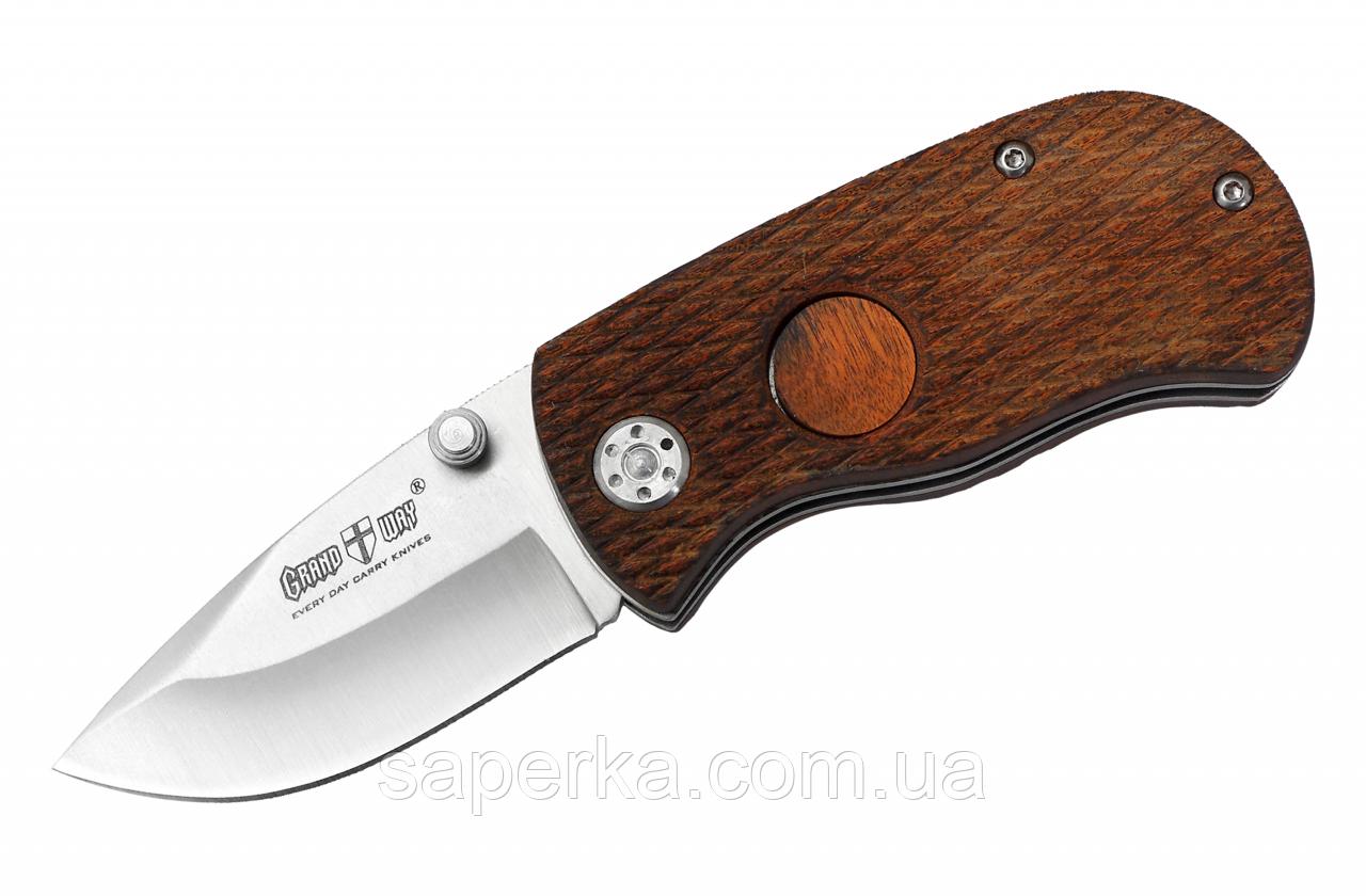 Нож карманный с фальлезвием Grand Way 00574