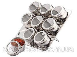Набір для спецій Товарpeterhoff PH 12786 9 баночок на магніті