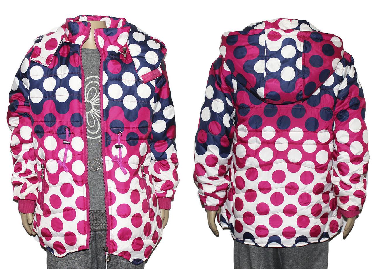 Курточка детская на весну для девочки J-63