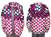 Курточка детская на весну для девочки J-63, фото 1