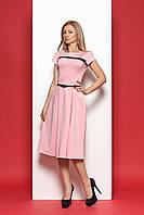 Элегантное платье миди в стиле ретро