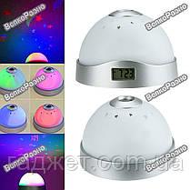 Звездное небо / Часы ночник проектор / Проектор, фото 2