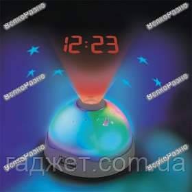Звездное небо / Часы ночник проектор / Проектор