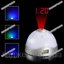 Звездное небо / Часы ночник проектор / Проектор, фото 3
