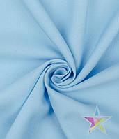 Габардин Голубой №18, ткань