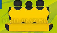 Майка сидения задняя желтая х/б Kegel (Koszulki)