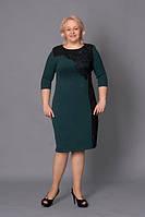 Женское платье больших размеров Кармен 52,54, 56, 58оптом