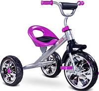 Велосипед  детский трехколесный TOYZ Caretero York от 3 лет до 25кг фиолетовый