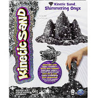 Песок для детского творчества - KINETIC SAND METALLIC (черный, 454 г)