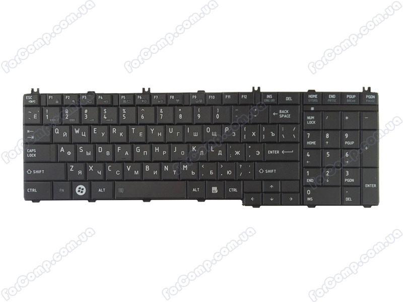 Клавиатура для ноутбука TOSHIBA C655