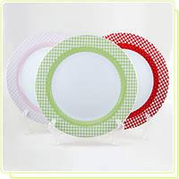 Набор фарфоровых тарелок MR10009-04 Maestro