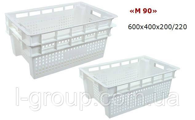 Ящик 600х400 пластиковый, Италия
