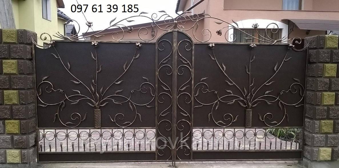 Кованые ворота  1499