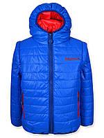 Детская демисезонная куртка - жилетка на мальчика, флис, р.110,116