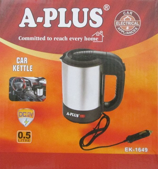 Автомобильный электрический чайник А-Плюс Ek-1649