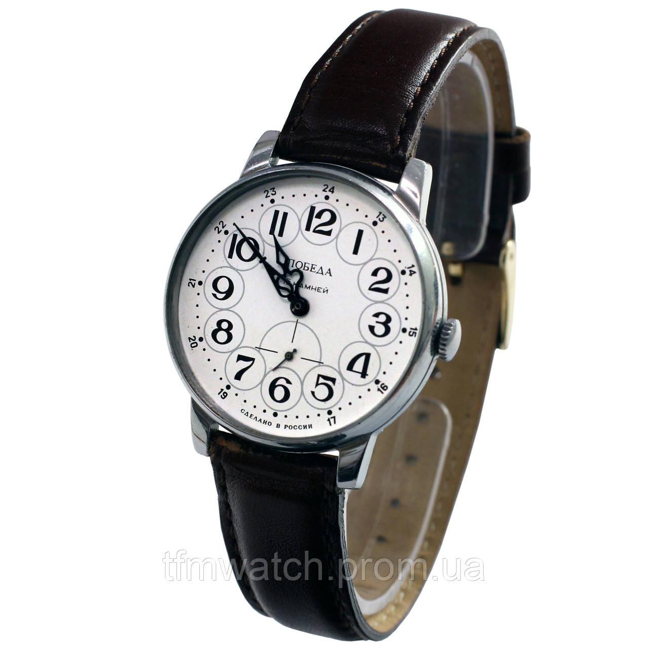 1d030278 Российские часы Победа 15 камней - Магазин старинных, винтажных и  антикварных часов TFMwatch в России