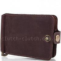 Кошелек-зажим для денег Dnk Leather DNK-Clamp-Hcol.F коричневый
