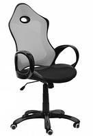 Кресло Матрикс-1 Чёрный, сиденье Сетка черная/спинка Сетка серый