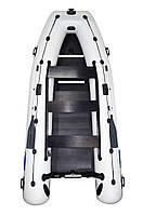 Omega 400КU PFA Lux - лодка надувная килевая Омега 400 с жестким фанерным настилом
