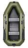 Omega 260LS(PS) - лодка надувная гребная Омега 260 с ковриком и передвижными сиденьями