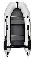 Omega 260M DE Lux - лодка надувная моторная Омега 260 с жестким настилом