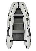 Omega 310MU DE Lux - лодка надувная моторная Омега 310 с жестким настилом