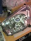 Комплект передних фар с биксеноновыми линзами с ангельскими глазами на Toyota RAV4 (Тойота Рав 4)