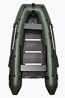 Килевая надувная лодка Омега 300 со сплошным фанерным настилом Omega 300К PFA Lux