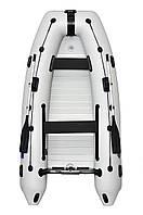 Килевая надувная лодка Омега 330 с алюминиевым настилом Omega 330КU ALF Lux
