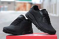 Мужские кроссовки Nike Air Max 90 Ultra Moire, черные / кроссовки мужские Найк Аир Макс Ультра Муар