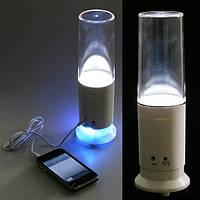 2-в-1 настольная лампа и мини динамик