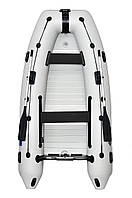 Надувная моторная лодка Омега 330 серии Lux с настилом книжкой Omega 330MU DE