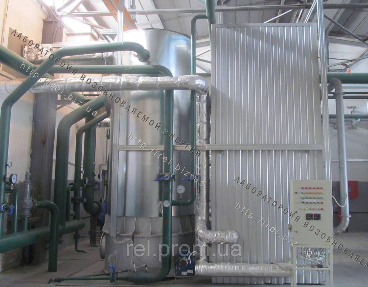 Перевод водогрейных и паровых котельных на сжигание биомассы
