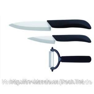Набор керамических ножей Lessner Ashley LS-77110 из 3 предметов - Интернет-магазин TechTrade в Харькове